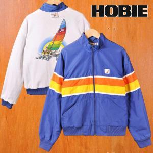 ヴィンテージ 1970年代 USA製 HOBIE ホビー オールドサーフ ナイロンジャケット メンズM penguintripper