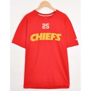 ビッグTシャツ NIKE ナイキ NFL カンザスシティ・チーフス ジャマール・チャールズ 半袖Tシャツ メンズXL(21264|penguintripper