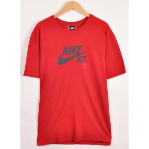 ビッグTシャツ NIKE SB ナイキSB スケートボーディング 半袖Tシャツ レッド メンズXL(21316|penguintripper