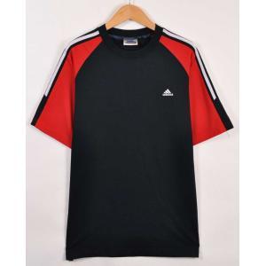 ビッグTシャツ ヴィンテージ 90年代 adidas アディダス 半袖Tシャツ ダークネイビー メンズXL(21318|penguintripper