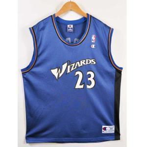 ビッグサイズ チャンピオン NBA ワシントン・ウィザーズ マイケル・ジョーダン バスケ タンクトップ XL相当|penguintripper