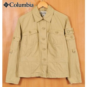 Columbia コロンビア サファリジャケットスタイル アウトドア コットンジャケット レディースL(23180|penguintripper