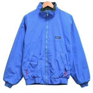 USA製 ヴィンテージ 90年代 パタゴニア シェルドシンチラジャケット ブルゾン 内フリース ライトブルー系 M|penguintripper