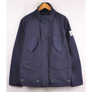 トミーヒルフィガー フィールドジャケットスタイル アウトドアジャケット ネイビー メンズM|penguintripper