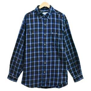 ビッグサイズ カーハート フランネルシャツ 長袖シャツ コットン ボタンダウン ブラック チェック XL相当 penguintripper