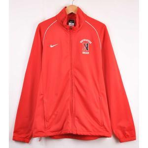 NIKE ナイキ ジャージ サッカーチーム NORTHEASTERN カレッジ レッド メンズL|penguintripper