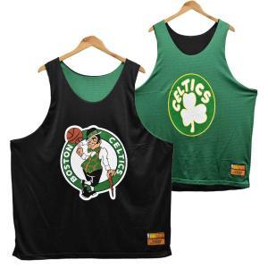 ビッグサイズ BIG MAN G-III NBA Boston Celtics リバーシブル バスケタンクトップ ユニフォーム メッシュ 3XL(39273 penguintripper