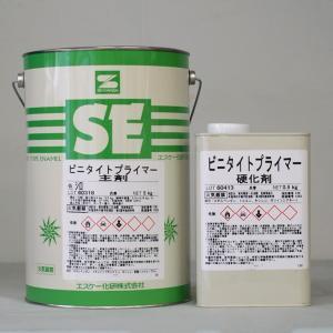 ビニタイトプライマー (白) 5.5Kg/セット 塗料 塩ビ ペンキ 業務用 塗装 可塑剤 移行 エスケー エスケー化研|penki-ippai