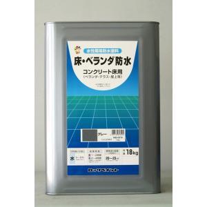 「ベロ付(注ぎ口)」ロックペイント H82-0321 床・ベランダ防水 ツヤなし (モスグリーン) ...
