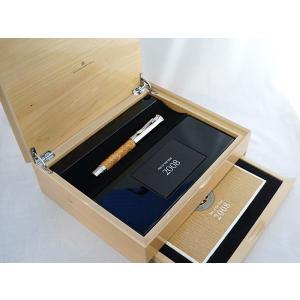 SALE FABER-CASTELL 限定品 サテンウッド 万年筆 M ペンオブザイヤー 2008 145050|penmeister