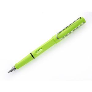 2015年限定商品  ラミー サファリ ネオンライム 万年筆  2015年に発売された 蛍光カラー ...