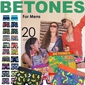 ネコポス対応 ボクサーパンツ メンズ BETONES ビトーンズ NEON3 ネオン3  EAGLE&TIGER イーグル&タイガー メール便