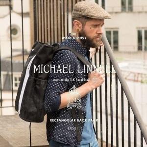 メンズ レディース リュックサック レキュタンギュラ バックパック MICHAEL LINNELL マイケルリンネル ML-011 pennepenne