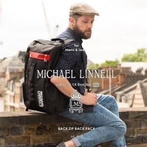 メンズ レディース リュックサック バックジップバッグ バックパック MICHAEL LINNELL マイケルリンネル ML-012 pennepenne