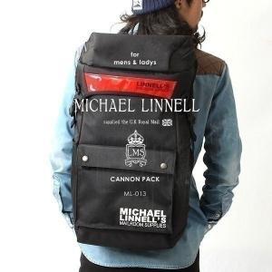 メンズ レディース リュックサック キャノンパック バックパック MICHAEL LINNELL マイケルリンネル ML-013|pennepenne