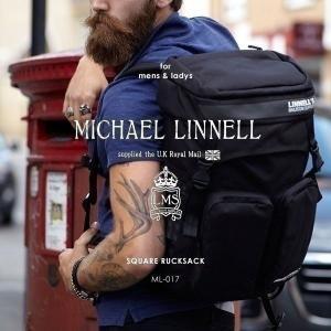 メンズ レディース リュックサック スクエア バックパック デイパック リュック MICHAEL LINNELL マイケルリンネル ML-017 pennepenne