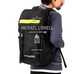 メンズ レディース リュックサック バックパック MICHAEL LINNELL マイケルリンネル ML-018|pennepenne
