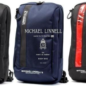 メンズ レディース リフレクター ボディバッグ MICHAEL LINNELL マイケルリンネル ML-023 9L|pennepenne