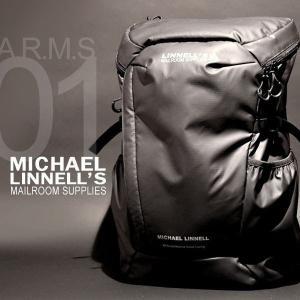 メンズ レディース 29L リュック バックパック 撥水 耐熱 軽量 PCリュック MICHAEL LINNELL/マイケルリンネル A.R.M.S MLAC-01|pennepenne