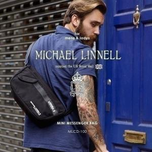 メンズ レディース ミニメッセンジャーバッグ ショルダーバッグ ショルダー MICHAEL LINNELL マイケルリンネル MLCD-100|pennepenne