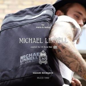 メンズ レディース スクエアリュックサック リュックサック ビジネスバッグ MICHAEL LINNELL マイケルリンネル MLCD-1000|pennepenne