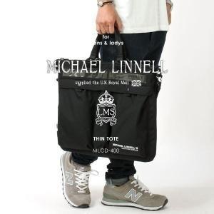 メンズ トートバッグ ブリーフケース MICHAEL LINNELL マイケルリンネル Thin Tote MLCD-400|pennepenne