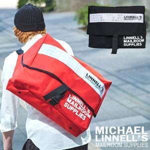 メンズ レディース メッセンジャーバッグ UK製 ビッグサイズ MICHAEL LINNELL マイケルリンネル MLUK-01 pennepenne