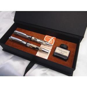 ダライッティ AKR104 万年筆・ボールペンセット モザイク ラグジュアリーボックス|penpapi