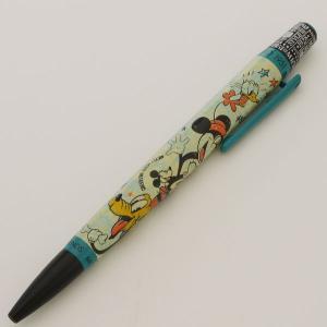 レトロ51 ボールペン ミッキーマウス&フレンズ  マルチフレンズ(ブルー)|penpapi