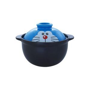 ドラえもん フェイス 一人用土鍋 金正陶器 009156|penport