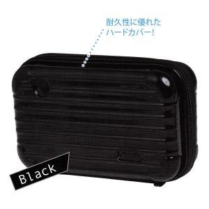 ミニキャリーペンケース 【ブラック】 クラックス 06784|penport