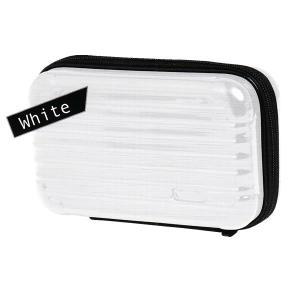 ミニキャリーペンケース 【ホワイト】 クラックス 06785|penport
