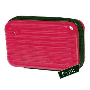 ミニキャリーペンケース 【ピンク】 クラックス 06786|penport