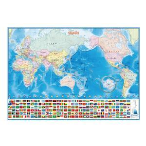 いろいろ書ける!消せる!世界地図 デビカ 073102|penport