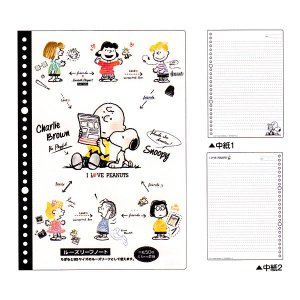 スヌーピー ルーズリーフノート カミオジャパン 07614|penport
