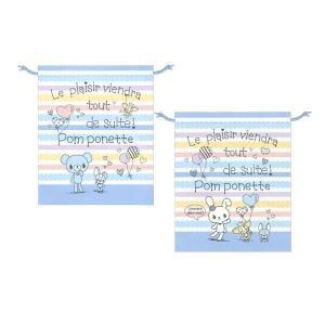 ポンポネット 巾着袋(体操着) マックスタイル 20103479|penport
