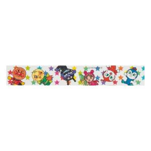 アンパンマン マスキングテープ 15mm 【ほし】 サンスター文具 3920010B|penport