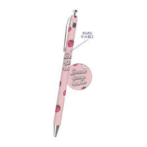 フルーツコレクション ラバーシャープペン 0.5mm 【ストロベリーモア/ピンク】 クーリア 42632|penport