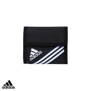 アディダス adidas リュエルウォレット/ワレット(かぶせ) 【ブラック】 4762300-01|penport