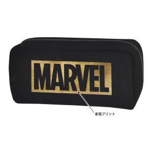 MARVEL マーベル ペンケース 【ゴールド】 クラックス 48081|penport