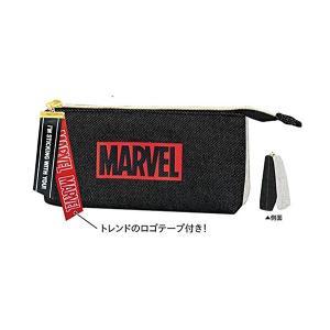 MARVEL マーベル ペアポケットペンケース 【ジッパー】 クラックス 49212 penport