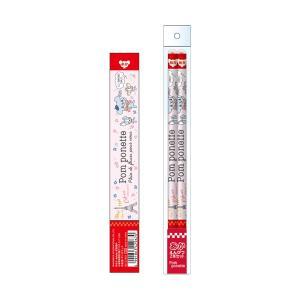 ポンポネット 赤鉛筆2本セット サカモト 80120901|penport