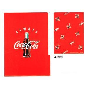 コカコーラ 5インデックス クリアファイル 【RED】 カミオジャパン 83387|penport