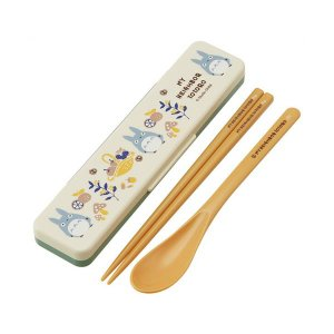 となりのトトロ(KURASHI) 音の鳴らないコンビセット(ハシ18.0cm) スケーター CCS3SA-474187|penport