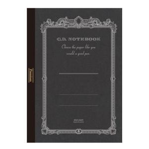 紳士なノート Premium C.D. NOTEBOOK (無地) B5判 アピカ CDS120W ...