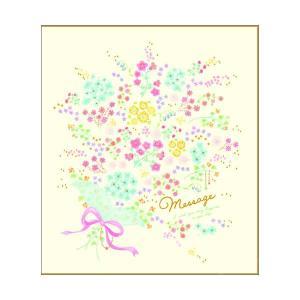 色紙 二つ折り色紙 【花束】 学研ステイフル D080-11|penport