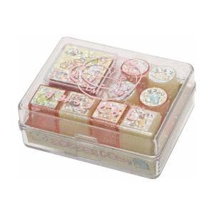 すみっコぐらし スタンプセットミニ【ピンク】 サンエックス FT24201