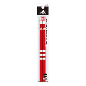 アディダス 赤鉛筆 2本入り 三菱鉛筆 K881AI2P|penport