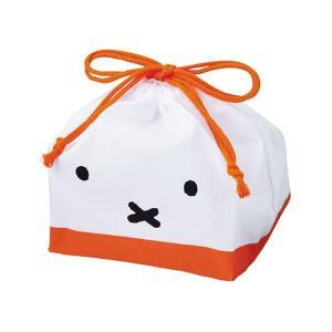 ミッフィー お弁当袋【フェイス】 クツワ MF442|penport