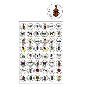 パリオシール 昆虫シール オキナ PS152 【メール便OK】|penport